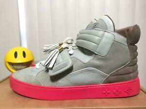 competitive price 7004d eaae3 Image is loading Kanye-West-x-Louis-Vuitton-Jaspers-Pink-Grey-