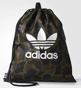 24dadd39b8 Image is loading adidas-Originals-Drawstring-Camouflage-Multicolor-Gym -Sack-Sport-