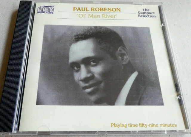 CD  Paul Robeson  ***   Ol' Man River