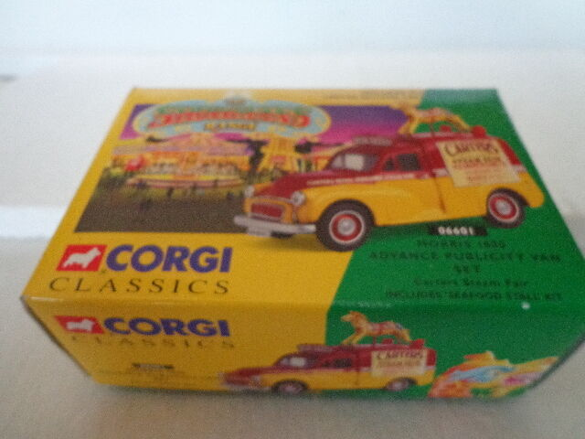 Nib corgi showmans palette morris 1000 voraus gesetzt   06601 publicity - van