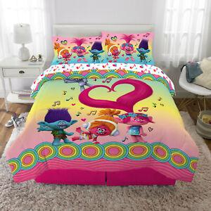 Trolls Bed in a Bag Bundle Set, Kids Bedding, Super Soft ...