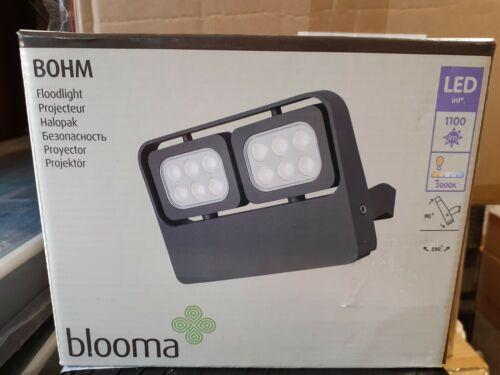 Blooma BOHM gris extérieur Projecteur Sécurité 1100 LM LM 6.5 W secteur DEL NEUF