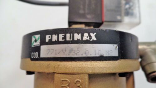 PNEUMAX LARGE FLOW VALVE 771//V.32.0.1C.M2 NORMALLY CLOSED WEEKE
