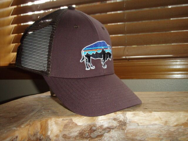 Buy Patagonia Fitz Roy LoPro Trucker Hat Pinecone Brown Bison ... 5dc7a6f07b7