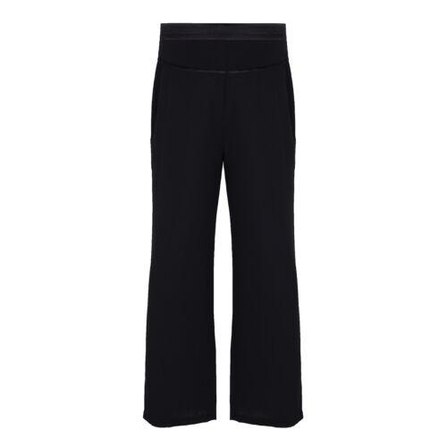 Mens Soft Dance Pants Ballroom Latin Black Trousers Rumba Professional Dancewear