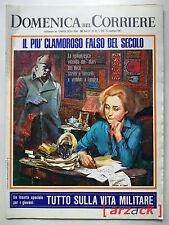 DOMENICA del CORRIERE 48 FALSI DIARI DI MUSSOLINI Scandalo Capocotta 21/11/1967