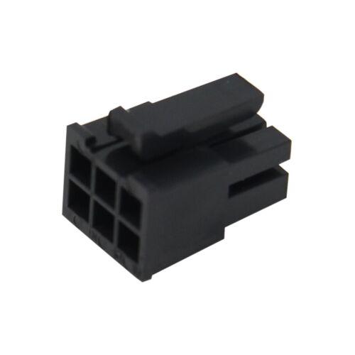 6 MOLEX 4X 43025-0608 Stecker Leitung-Platte weiblich Micro-Fit 3.0 3mm PIN