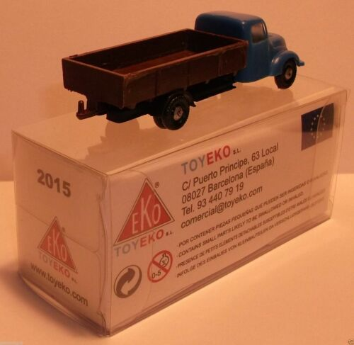 MICRO TOY EKO TOYEKO HO 1//86 1//87 CAMION MAGIRUS BENNE FIXE REF 2015 IN BOX