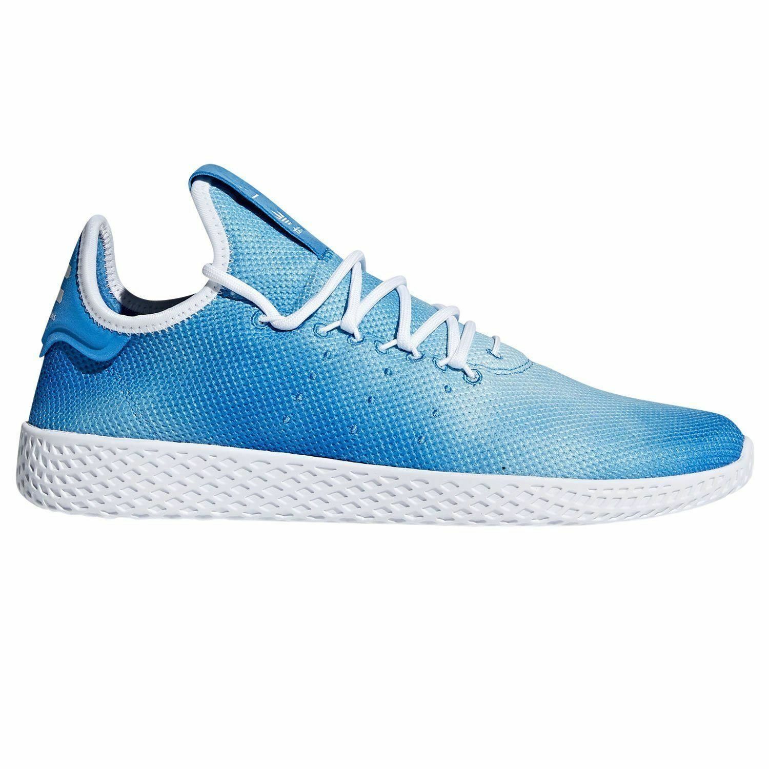 adidas PHARRELL WILLIAMS HU TENNIS Zapatos Azul NEW TRAINERS SNEAKERS Zapatos Hombre'S NEW Azul 6e6885