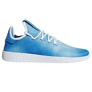 Caricamento dell immagine in corso Adidas-Pharrell-Williams-HU-Scarpe-da- tennis-blu- e48dccd1076