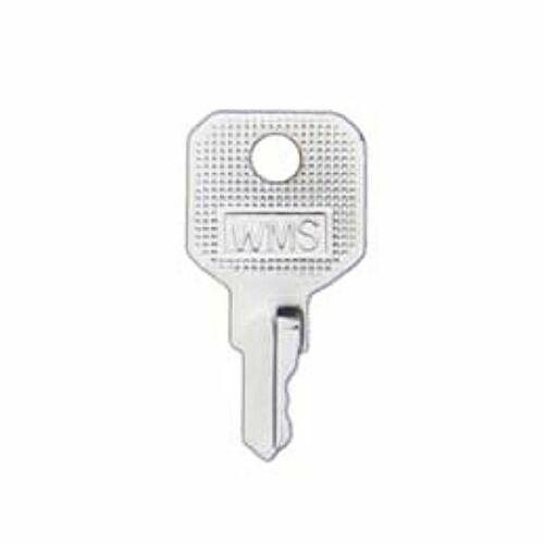 2 X WMS//AVOCET SHORT KEYS FOR  UPVC WINDOW HANDLES