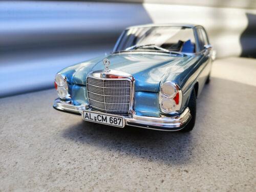 1:18 NOREV Mercedes 280SE W108 blue metallic NEU NEW