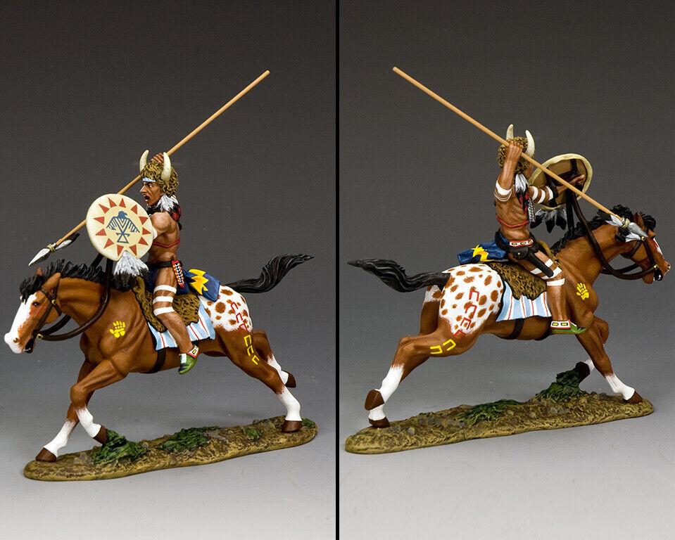El rey y y y el valiente oso nacional Cheyenne, el verdadero oeste de TRW 156. 43a