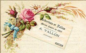 Carte-Visite-Pub-Maison-A-VALLON-a-SAUJON-Bijouterie-Joaillerie-Horlogerie