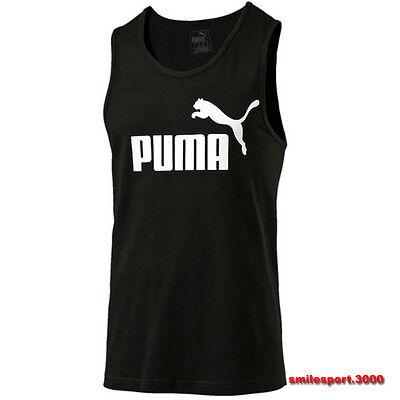 Mesh Sleeveless T Shirt Vest Puma 838242 _ 01 ESS no.1 Tank Cotton Camisole | eBay