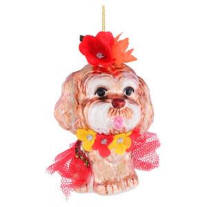 Christbaumschmuck Weihnachtsbaumschmuck Hund King Charles Hawaii