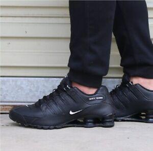 Details about Nike Shox NZ EU Black White 501524 091 Running Shoes Men's Multi Sizes NEW