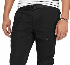 Polo-Ralph-Lauren-Jogger-Cargo-Pocket-Training-Running-Stretch-Straight-Pants