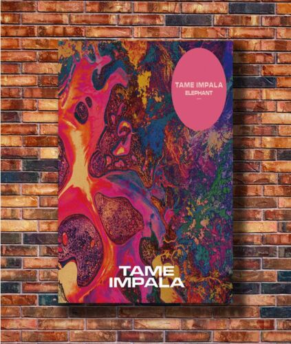 T1538 20x30 24x36 Silk Poster Tame Impala Psychedelic Rock Music Art Print