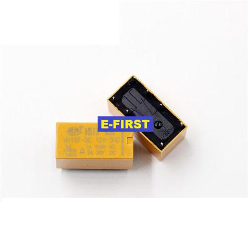 5pcs//10pcs//20pcs Hui Ke relay HK19F-DC12V-SHG  2A 8pin 125VAC 30VDC 8feet
