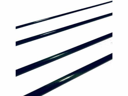 4wt environ 3.05 m 4pc IM8 Graphite Fly Rod Blank Medium Fast Action Brillant vert 10 ft