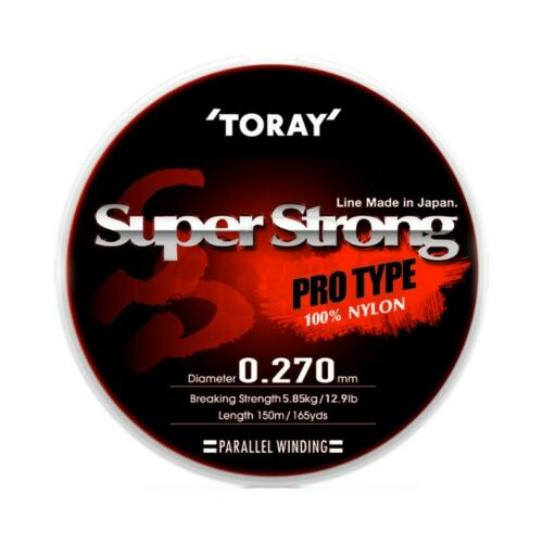 Toray Nylon Super Strong 150m Transparent