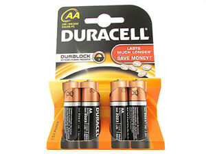 Pila-Bateria-Duracell-Alcalina-LR6-MN1500-Tipo-Stilo-AA-15V-Paquete-De-4-Pil