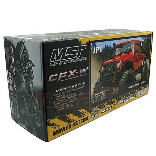 MST CFX-W JP1 1 8 4WD Delantero De Motor de alto rendimiento Offroad Coche Kit  532173