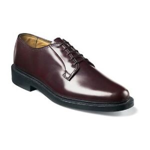 Image is loading Florsheim-Imperial-Kenmoor-mens-shoes-burgundy -calfskin-leather-
