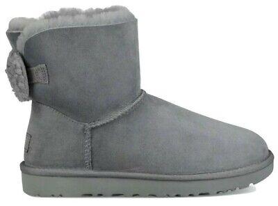 STIVALE TIPO UGG CAMOSCIO GRIGIO BASSO New Italia shoes