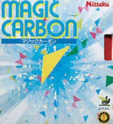 Nittaku Magic Carbon 1,3//1,6//1,8//2,0 mm Schwarz Rot