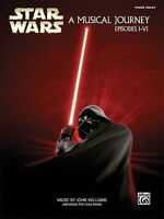 Star Wars A Musical Journey Music From Episodes I-vi Sheet Music Piano 000322092