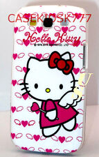 for samsung galaxy S3 cute kitty kitten case pink with hearts angel i9300 S III