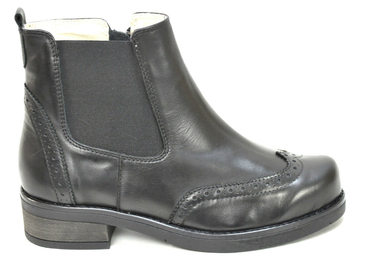 OGS Wide schuhe Naomy Leather Stiefel 3E wide