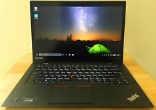 Lenovo ThinkPad X1 Carbon 3rd Gen 256GB SSD Intel i7-5600U 2.60GHz 8GB 2560X1440
