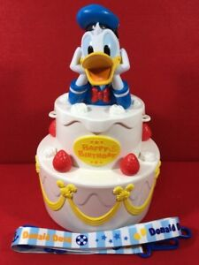 Fantastic Tokyo Disneyland Donald Duck Popcorn Bucket Happy Birthday Cake Funny Birthday Cards Online Alyptdamsfinfo