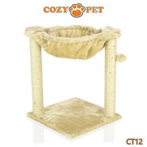 Cozy-Pet-Deluxe-Cat-Tree-Sisal-Scratching-Post-Quality-Cat-Trees-CT12-Beige