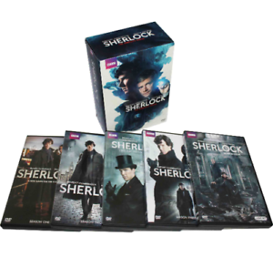 Sherlock-The-Complete-Series-Seasons-1-4-The-Abominable-Bride-2-3-4-DVD-New