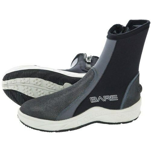 Bare 6mm Scuba Dive Bootie Size Men 11 Women 12.5 Molded Sole w  Toe & Heel Cap