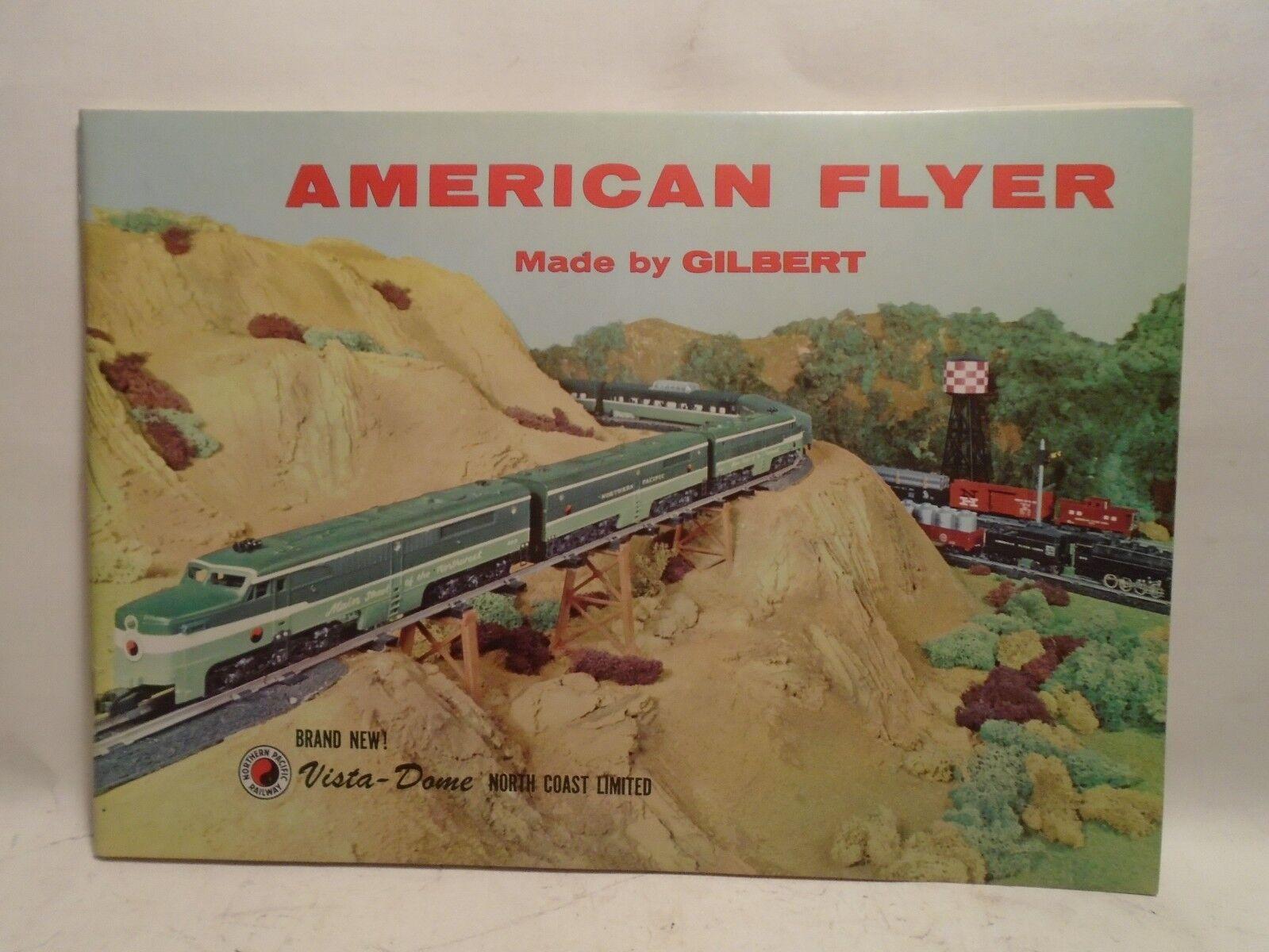ORIGINAL AMERICAN FLYER 1956 FULL COLOR CATALOG OF TOY TRAINS  D1866 MINT CONDIT