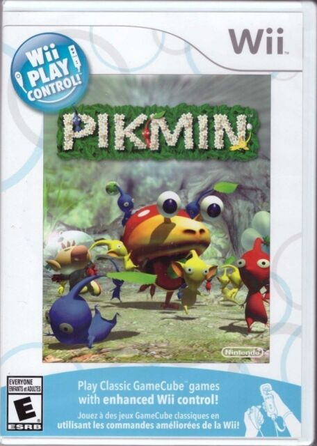 New Play Control Pikmin Nintendo Wii 2009 For Sale Online Ebay