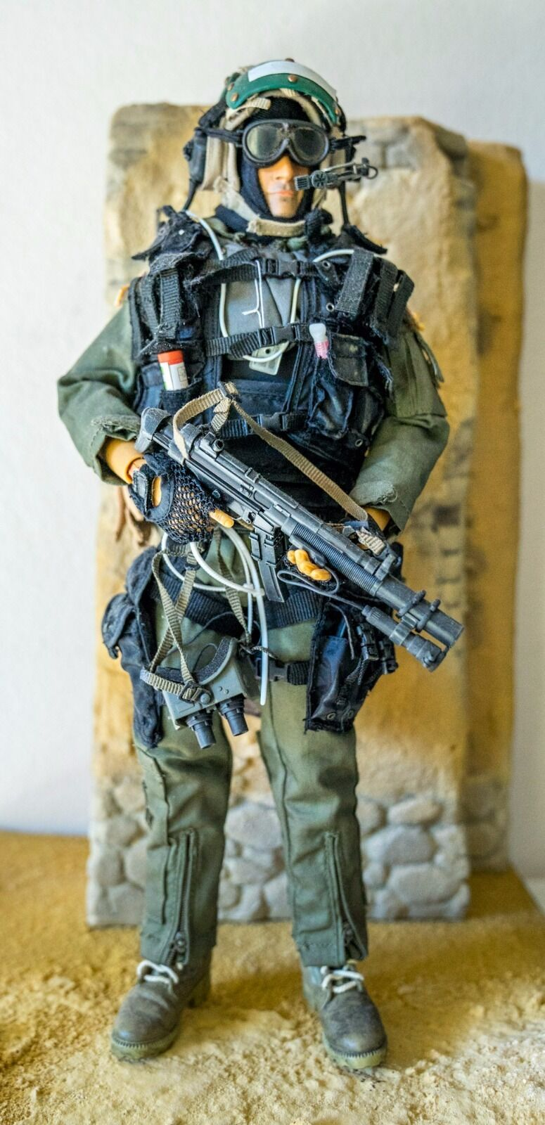 Hot Toys 1 6 US SEAL Team 5 VBSS COMMANDER- ENTERBAY - DAM TOYS - SOLDIER STORY