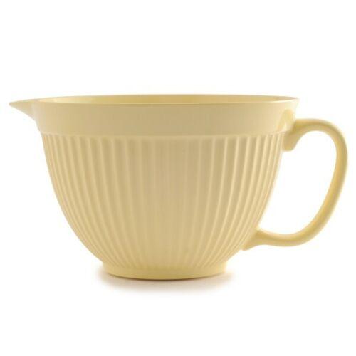 Butter Yellow Norpro #1017 Grip-EZ Melamine 4Qt Mixing Bowl