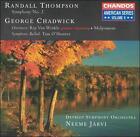 Randall Thompson: Symphony No. 2; George Chadwick: Overtures; Tam O'Shanter (CD, Apr-1996, Chandos)