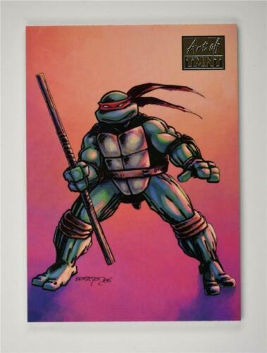 2019 art de TMNT Teenage Ninja Turtles Base 67 Kevin Eastman-bofighting tortue