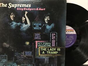The Supremes – The Supremes Sing Rodgers & Hart LP 1967 Motown – 659 VG/VG