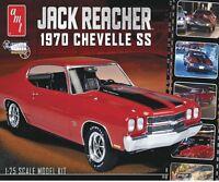 Amt Plastic Model Kit Jack Reacher's '70 Chevy Chevelle Ss 1/25 Scale Amt871