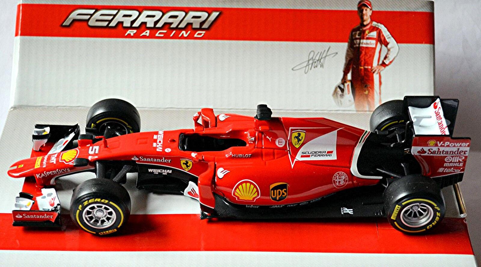 Ferrari Sf15-t F1 Sebastian Vettel 2015 Red Red 1 24 Bburago