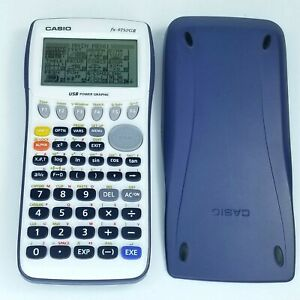 Details about Casio FX 9750 G II Graphing Calculator TESTED WORKS Mathlete  College AP