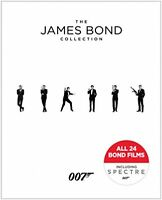 James Bond Collection, Movies Dvd Action Mystery Adventure Family Thriller on sale